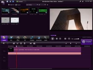 Wondershare Video Editor 5.1 - náhled