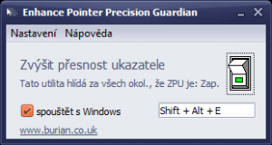 Enhance Pointer Precision Guardian Portable 1.2 - náhled