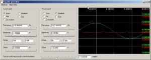 Součást Signální generátor - náhled