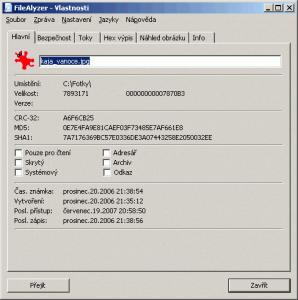 FileAlyzer 1.6.0.4 - náhled