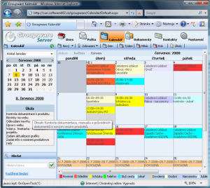 Groupware Server 6 #2008-09-01 - náhled