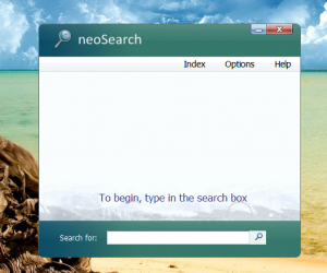 neoSearch 2.72 - náhled