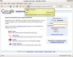 Secure Login 0.9.3 - náhled