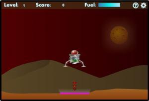 Mars Lander - náhled