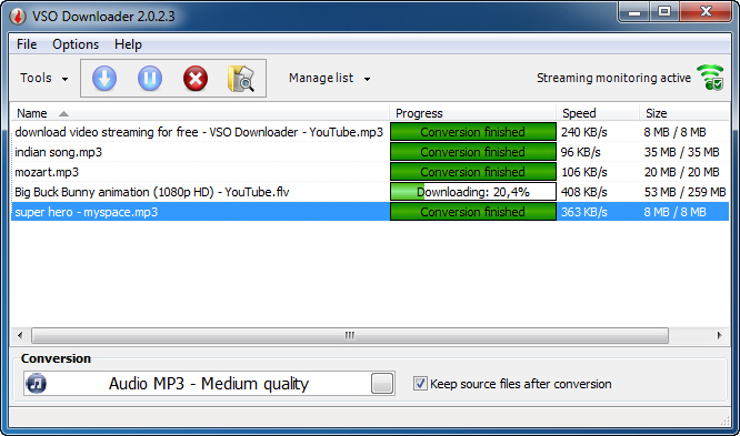 VSO Downloader 5.0.1.15 - Plná licence - 1 licence