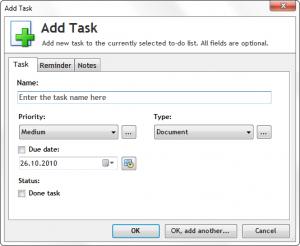 Task List Guru 4.107 - náhled