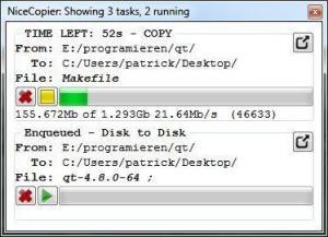 NiceCopier 13.0.18 - náhled