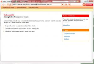 K7 SecureWeb 1.0.0.94 - náhled