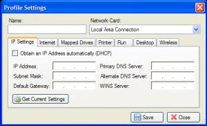 Net Profiles 2.1.7 - náhled