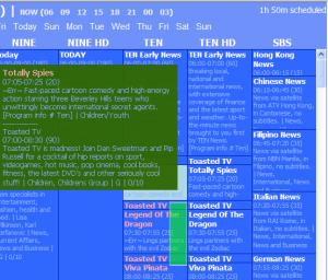 DV Scheduler 5.81 - náhled