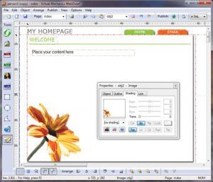 WebDwarf Web Page Maker 2.91L - náhled