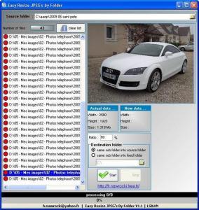 Easy Resize JPEG Folder 1.4 - náhled