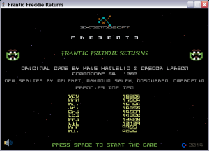Frantic Freddie Returns 1.0 - náhled