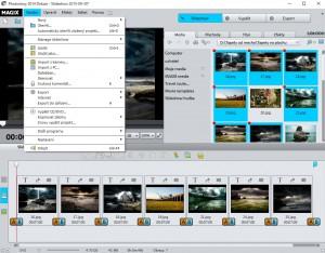 Magix Photostory -Čeština - náhled
