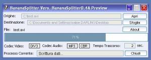BananaSplitter 0.5 Beta - náhled
