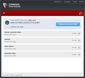 Comodo Cloud Scanner 2.0 - náhled