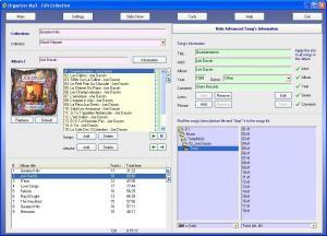 Organizer MP3 4.53 - náhled