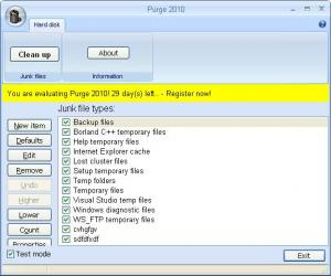 Purge 2012 4.0.1.1035 - náhled