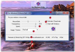 4ur-Windows-8-Mouse-Balls 1.64 - náhled