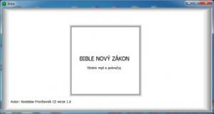 Bible - Nový zákon 1.0 - náhled