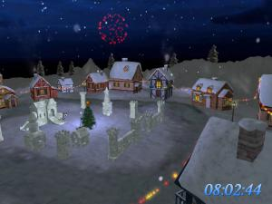 Christmas Land 3D Screensaver 1.2 - náhled