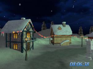 Christmas Land 3D Screensaver 1.2 - náhled