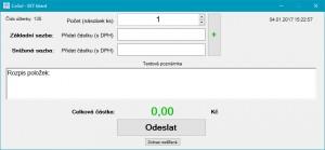 CoSol EET klient - náhled