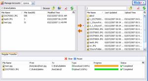 Firefox Universal Uploader 0.3.8 - náhled