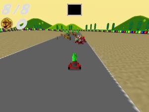 Super Mario Kart Remake - náhled