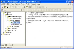 Tolon NoteKeeper 0.9.9 - náhled