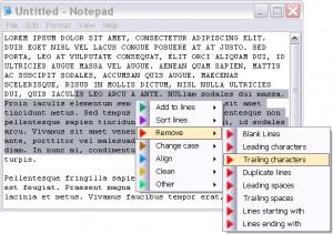 Dolphin Text Editor Menu 2.8 - náhled