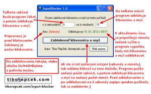 InputBlocker 1.0 - náhled
