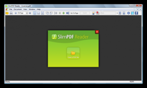 Slim PDF Reader 1.0 - náhled