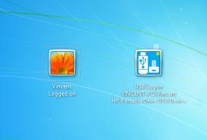 VSUsbLogon 1.13.3 - náhled