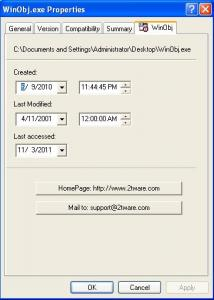 2Tware Change File Date 1.1.3 - náhled