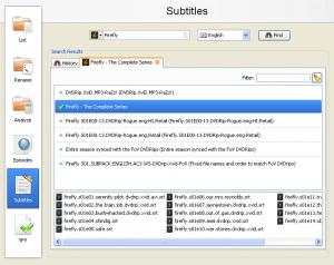 FileBot 4.7.7 - náhled
