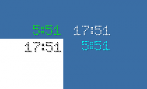 LED Clock GT-7 1.0 - náhled