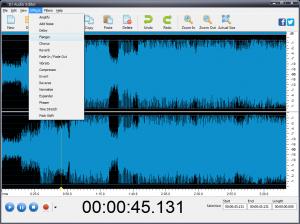DJ Audio Editor 7.1 - náhled