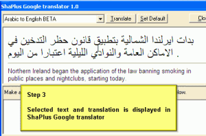 ShaPlus Google Translator 2.2 - náhled