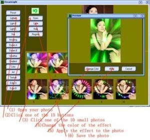 DreamLight Photo Editor 2.58 - náhled