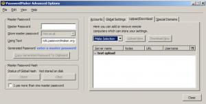 PasswordMaker 1.7.2 - náhled