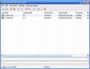 Bytessence MPxConverter 1.3 - náhled