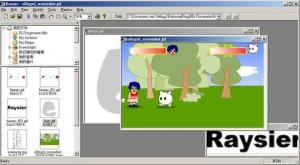 Raysier 0.1.0a - náhled