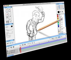 Pencil 0.4.4b - náhled