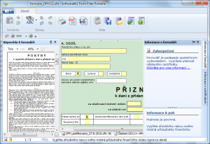 Software602 Form Filler Portable 4.70.17.16.0809 - náhled