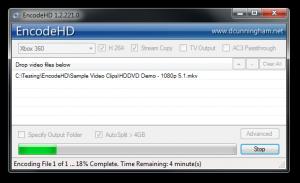 EncodeHD 1.4.150.0 - náhled