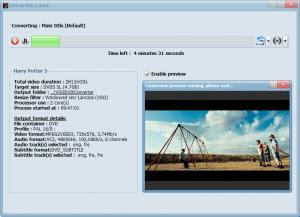 DVD to DVD 1.4.0.8 - náhled