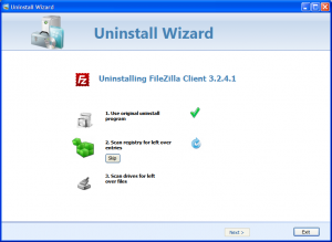 Cleanse Uninstaller Pro 8 - náhled