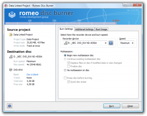 Romeo Burner Trial 2.3.2