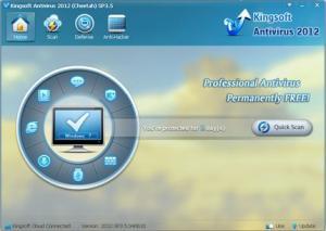 Kingsoft Free Antivirus 2012 SP5.7 - náhled